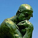 The Thinker, Rodin, Critical Thinking, John Dewey