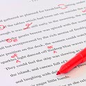 between you and me, between you and i, proofreading, red pen
